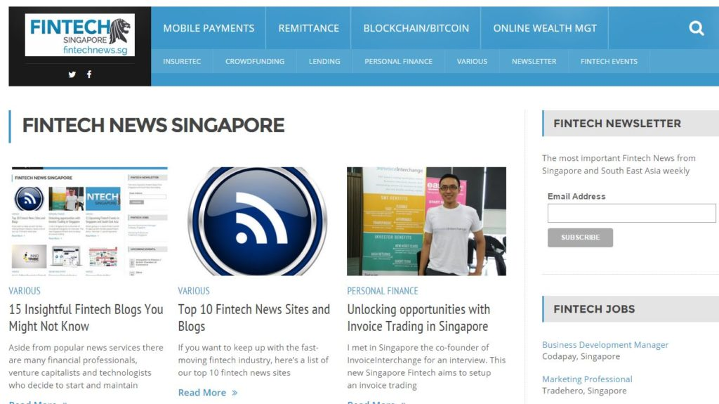 15 Insightful Fintech Blogs You Might Not Know | Fintech