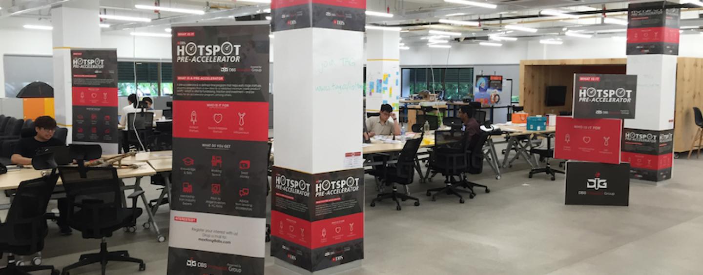 DBS HotSpot Announces 11 Finalists for Pre-Accelerator Program