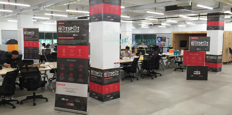 DBS HotSpot Announces 11 Finalists for Pre-Accelerator Program