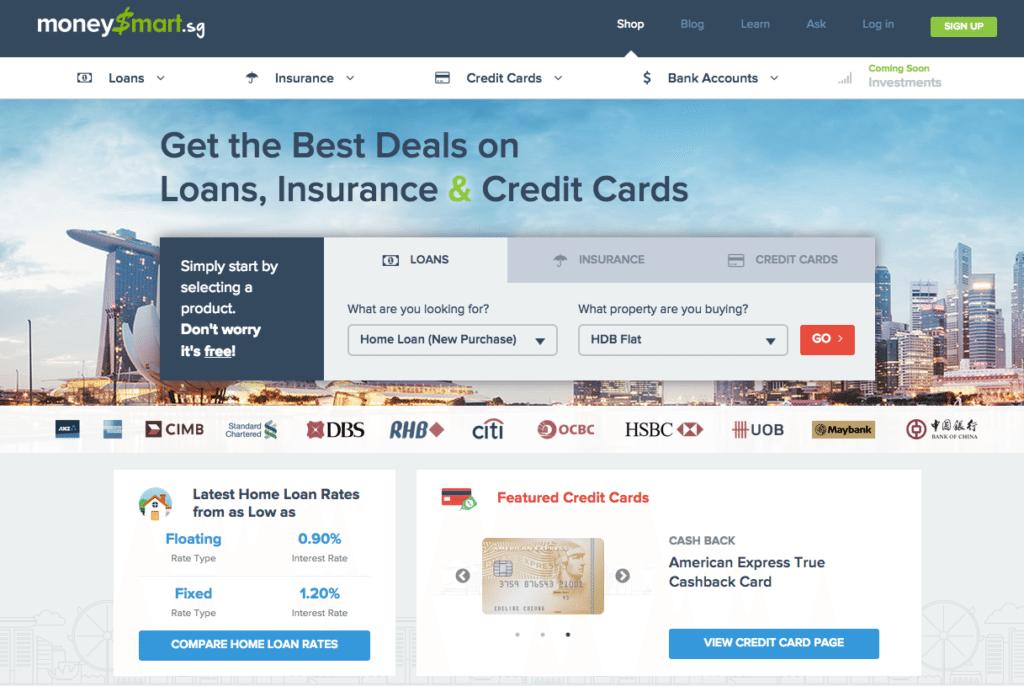 moneysmart homepage