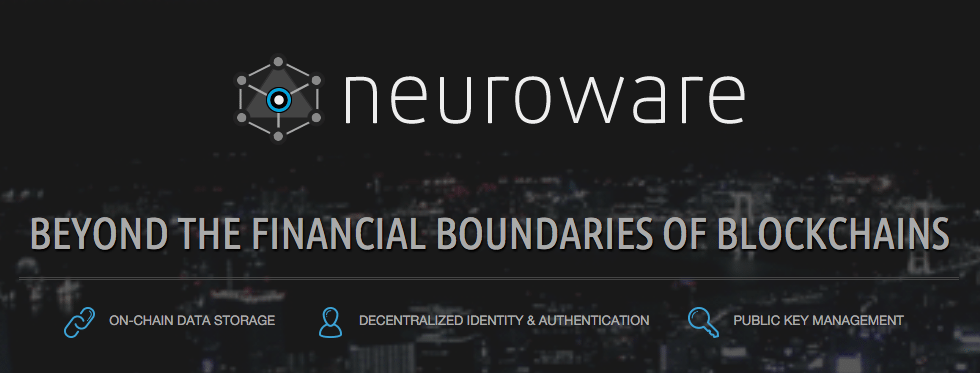 neurowave blockchain software development startup