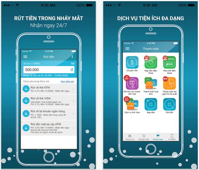 vimo mobile payment app