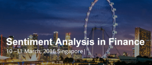 Sentiment Analysis in Finance Singapore
