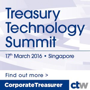 treasury technology summit singapore 2016