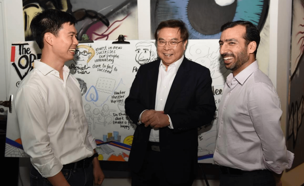 OCBC Bank Executives and Airbnb Managing Director