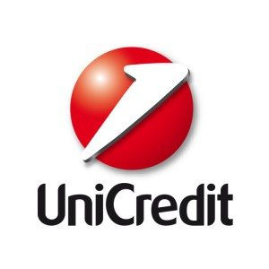 Unicredit bank italy logo blockchain paper fintech fund