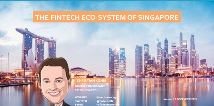 Top Fintech Startup Blogs and Social Media Account for Singapore