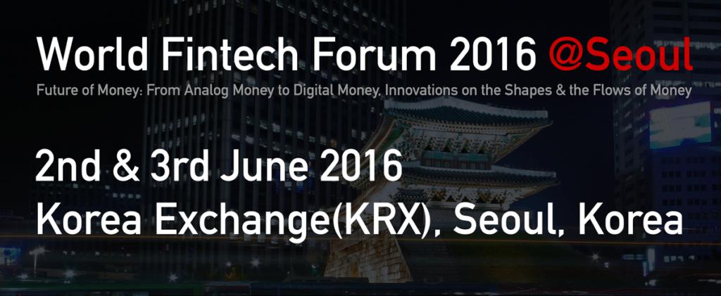 World Fintech Form 2016