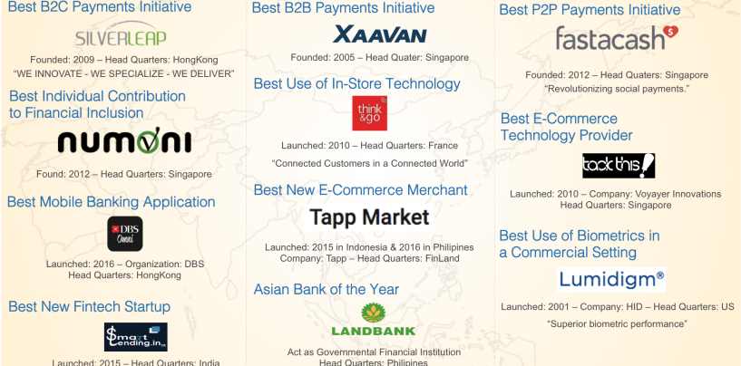 Congratulations to 10 Winners at Smart Awards Asia 2016