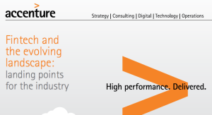 accenture fintech and the evolving landscape report april 2016