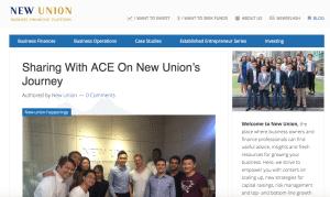 new union best blog singapore fintech