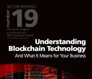 understanding blockchain technology dbs bank report