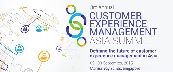 CUSTOMER EXPERIENCE MANAGEMENT ASIA SUMMIT 2016