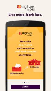 DBS digibank app digital banking asia