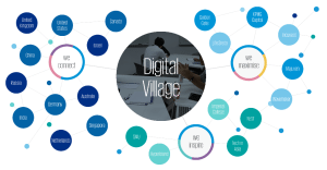 Digital Village KPMG platform portal fintech collaboration