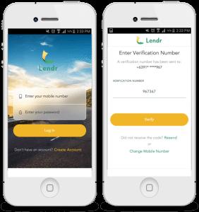 Lendr loan platform