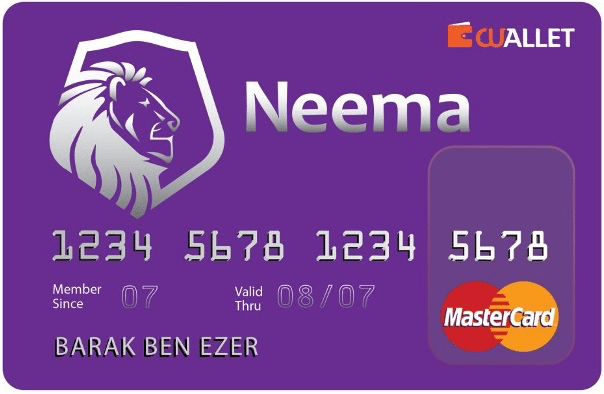 Preview card | Neema mastercard