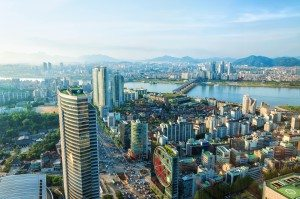 Image: Downtown Seoul and the Han River by Vincent St. Thomas, via Shutterstock.com