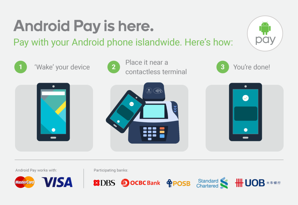 Android Pay Launches in Singapore