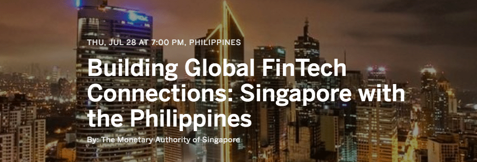 Building Global FinTech Connections - Singapore with the Philippines