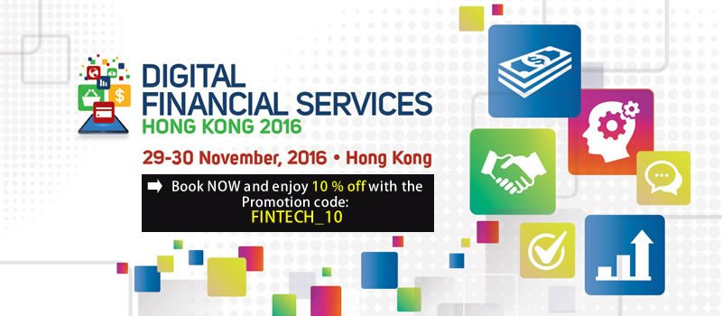 Digital Financial Services Hong Kong 2016