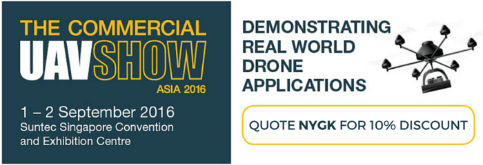 The Commercial UAV Show Asia 2016