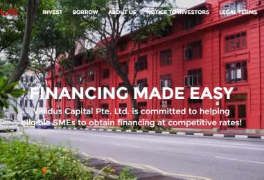 First Singapore SME Lending Platform to Provide Investor Protection