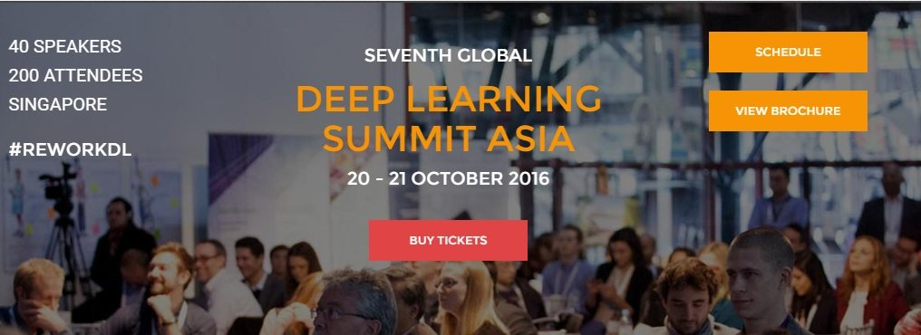 Deep Learning in Finance Summit - Asia