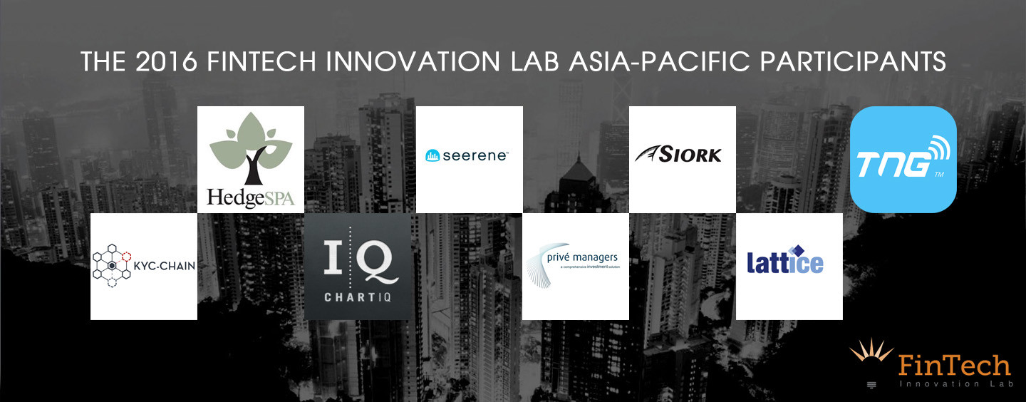 8 Fintech Startups Enter The FinTech Innovation Lab Asia-Pacific