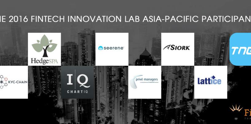 8 Fintech Startups Enter The FinTech Innovation Lab Asia-Pacific