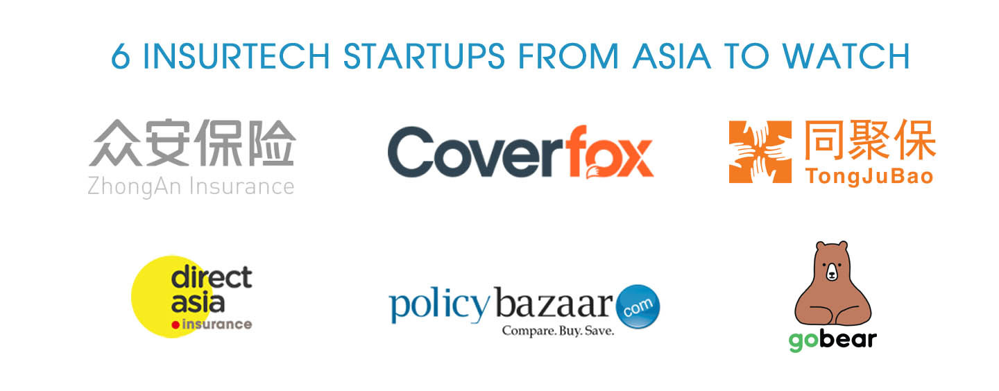 6 Insurtech Startups From Asia to Watch
