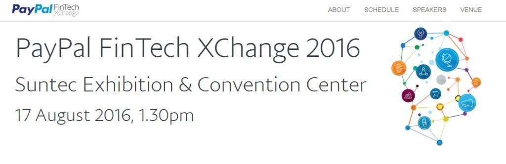 PayPal FinTech XChange 2016