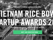 Winners of Vietnam Rice Bowl Startup Awards