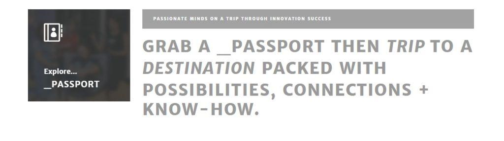 a space -passport to fintech
