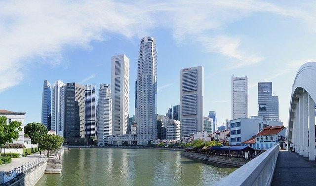 Singapore City Cities Skyline. From Pixabay