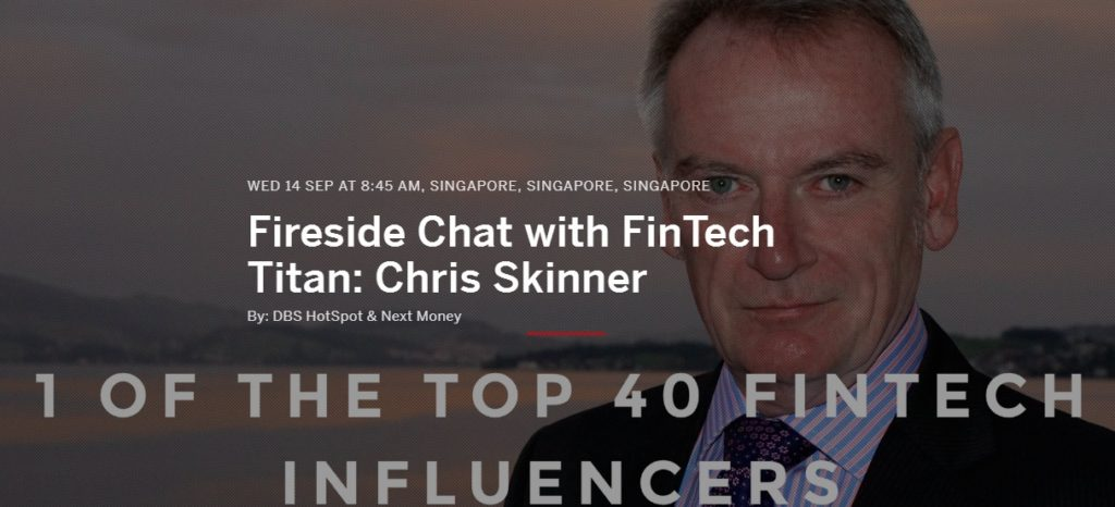 Fireside Chat with FinTech Titan: Chris Skinner