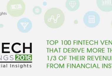 Top 100 Fintech Vendors That Derive More Than 1/3 of Their Revenue From Financial Institutions