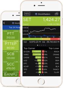 StockRadars, a stock trading, monitoring app
