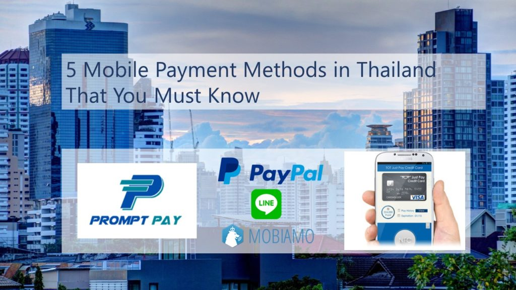 5 mobile payment methods in thailand that you must know for Thailand mobel