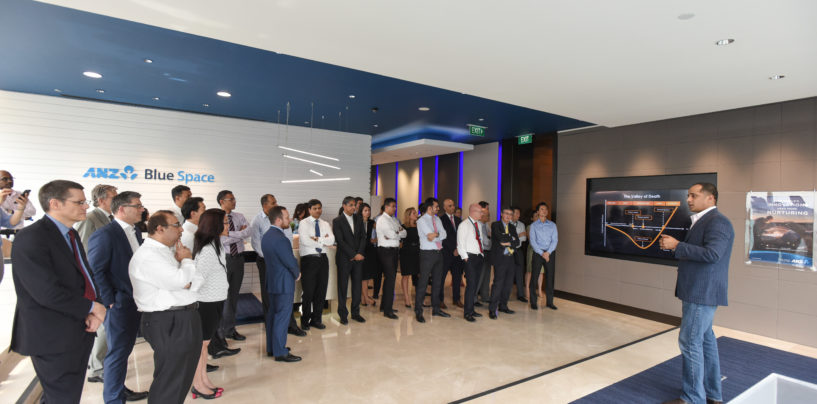 ANZ Launches Innovation Lab in Singapore