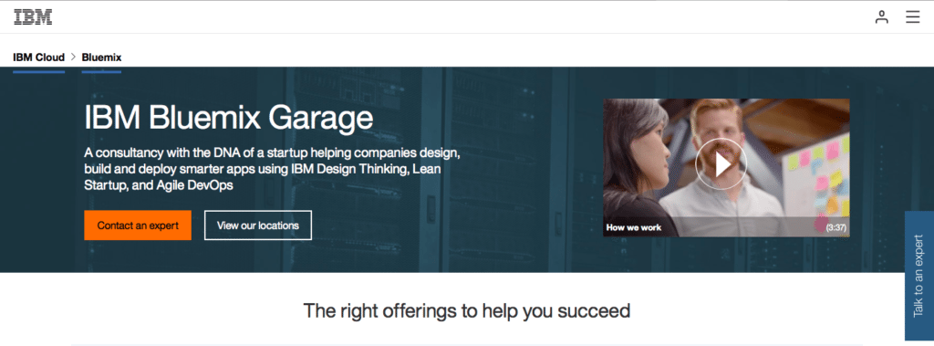 IBM Bluemix Garage