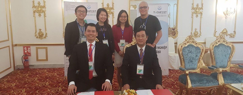 Singapore Partners with Vietnam's National Agency for Technology Entrepreneurship