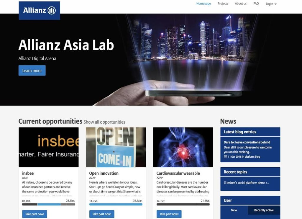 Allianz's Asia Lab