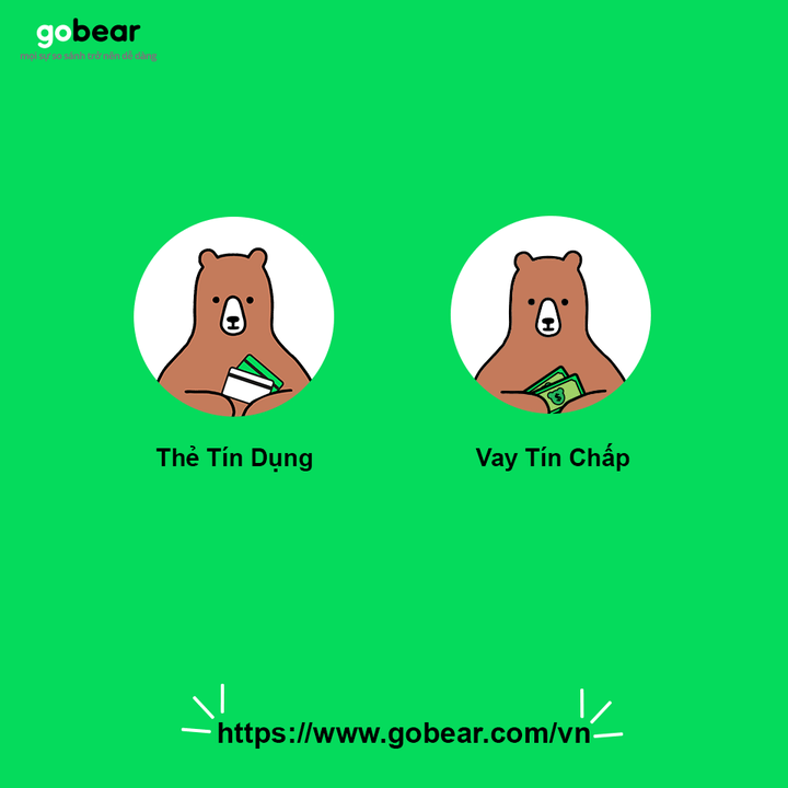 GoBear's Products in Vietnam: credit card and personal loan comparisons