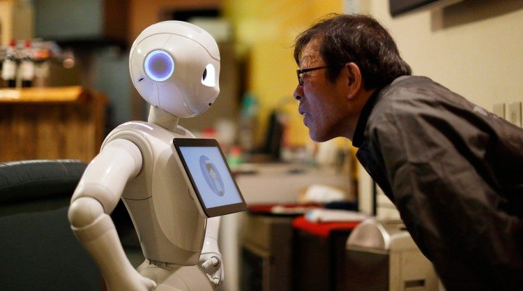 Human interaction with artificial intelligence | Photo: Bloomberg