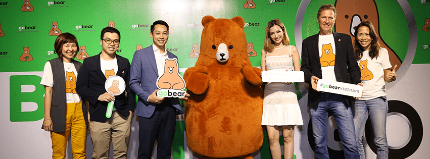 BearOnTheGo Event of GoBear at GEM Center. Via Facebook
