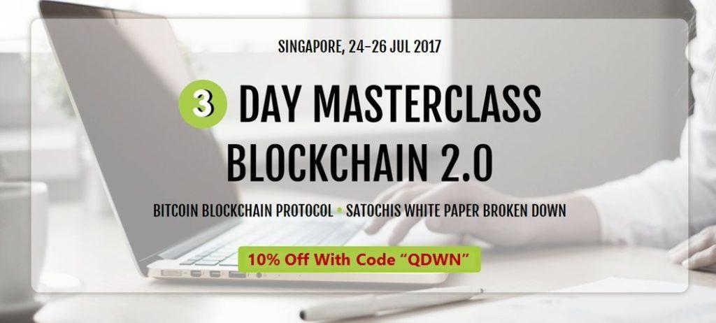 3-Day Masterclass Blockchain 2.0