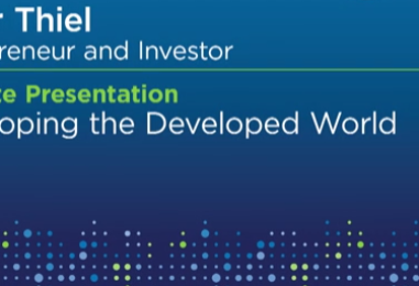 "Lendit USA Review: Keynote Presentation by Peter Thiel ""Developing the Developed World"""