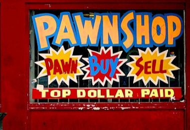 Two Online-Pawnshops: For Rich and for Poor