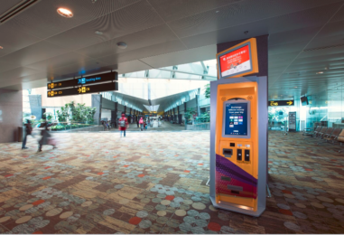 TravelersBox Arrives at Singapore Airport